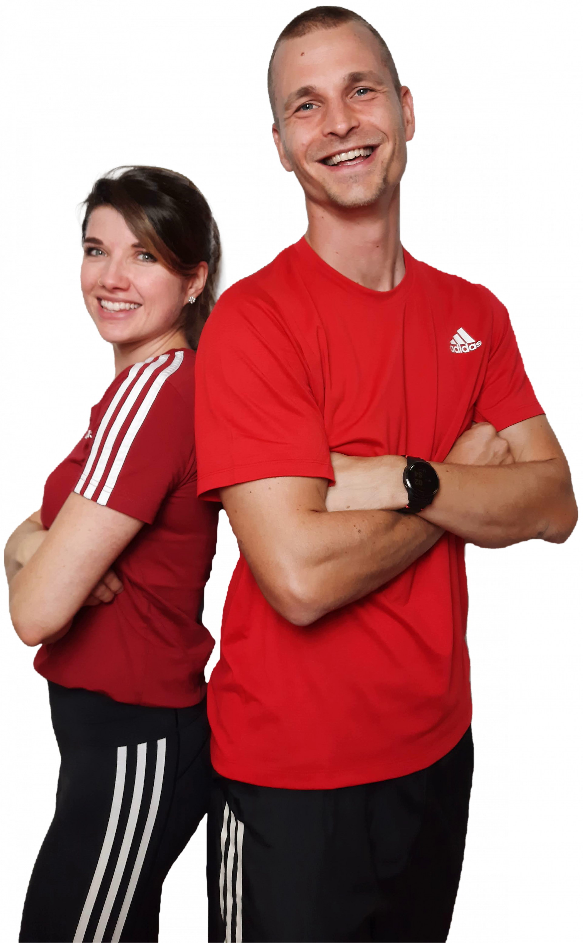 Personal Trainer in Bern: Ramona Bützer & Oliver Zachara im Trainingsoutfit | OZ Personal Training